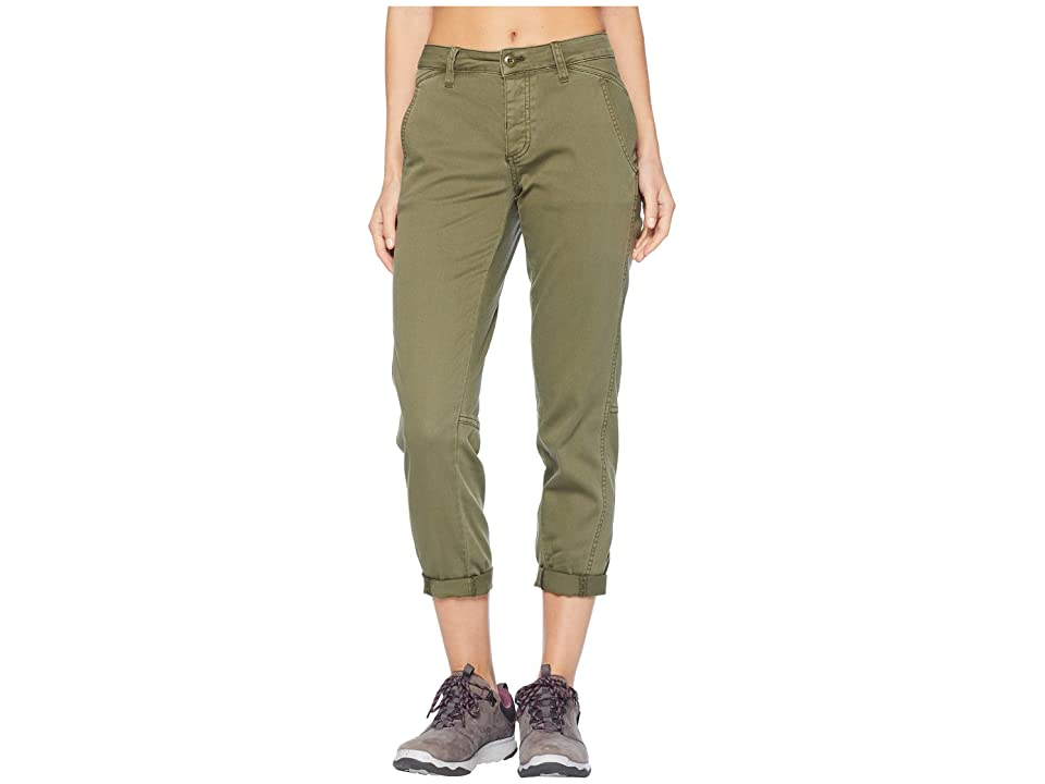 Prana Janessa Pants (Cargo Green) Women