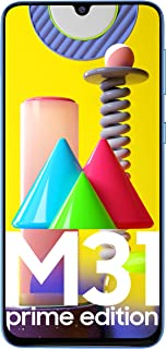 Samsung Galaxy M31 Prime Edition (Iceberg Blue, 6GB RAM, 128GB Storage) - Get Flat Rs 2,500 Instant Discount with select b...