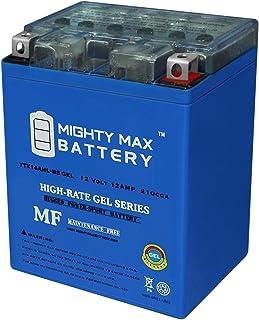 Mighty Max Battery 12V 12Ah Gel Battery for Kawasaki 650 KL650-A, E, KLR 1987-2012 Brand Product