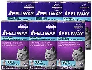 Feliway Plug-In Diffuser Refill, 48 mL, 6-Pack