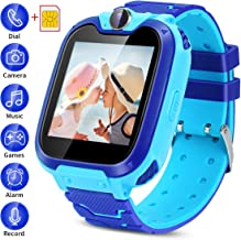 Kids Smartwatch with SIM Card Included,Two-Way Phone Call Games Camera Music Player 1.54..