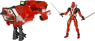 Hasbro X-Men: Origins Wolverine Comic Series Deadpool With Missile Cannon Deluxe Action Figure