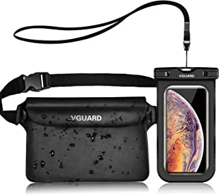 VGUARD Waterdichte Telefoonhoesje Protector Case met Waterproof Mobile Phone Case, Universel Onderwater Hoes voor Waterspo...