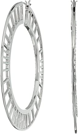 Swarovski - Griselda Pierced Earrings Hoops