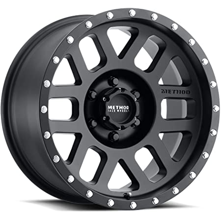 "Method Race Wheels 306 Mesh Matte Black 17x8.5"" 6x5.5"", 0mm offset 4.75"" Backspace, MR30678560500"