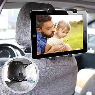 ieGeek Soporte Tablet Coche, Soporte Reposacabezas, Apoyo 360 Rotación, Soporte para Tablet para,Compatible con iPad 2/3/4 / Mini/DVD, Samsung Galaxy Tab y Tableta de 7-12 Pulgadas