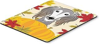 Caroline's Treasures BB2035MP Saluki Thanksgiving Mouse Pad, Hot Pad or Trivet, Large, Multicolor
