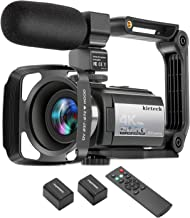 Sponsored Ad - Video Camera Camcorder 4K 60FPS kicteck Ultra HD Digital WiFi Camera 48MP 3 inch Touch Screen Night Vision ...