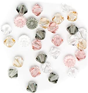 Swarovski - Create Your Style Bicone Crystal Mix Star 3 packages of 30 Piece (90 Total Crystals)