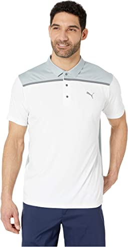 Bonded Color Block Polo