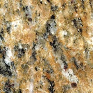 EZ FAUX DECOR Instant Venetian Gold/Santa Cecilia Marble Granite Countertop Film Self Adhesive Vinyl Laminate Counter Top Peel and Stick NOT Contact Paper (36