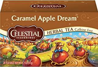 Sponsored Ad - Celestial Seasonings Herbal Tea, Caramel Apple Dream, 20 Count (Pack of 6)