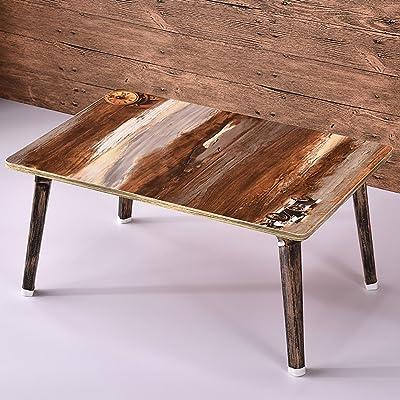 Colore: Avorio Francese Tavolino in Mogano Geko 74 x 50 x 44 cm