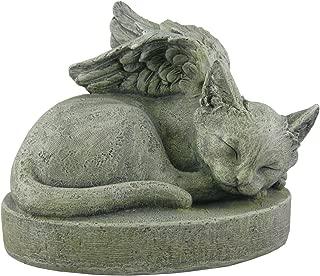 Sympathy Cat - Cat Angel Pet Memorial Stone