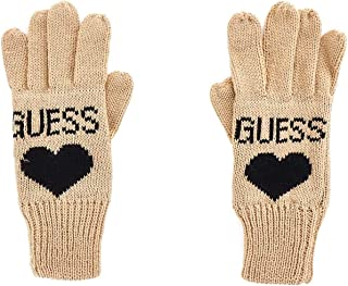 Luxury Fashion | Guess Womens AW8204WOL02CAMEL Beige Gloves | Fall Winter 19