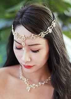 Missgrace Crystal Bohemian Women Head Chain Wedding Party Hair Accessories Bohemian Headpiece