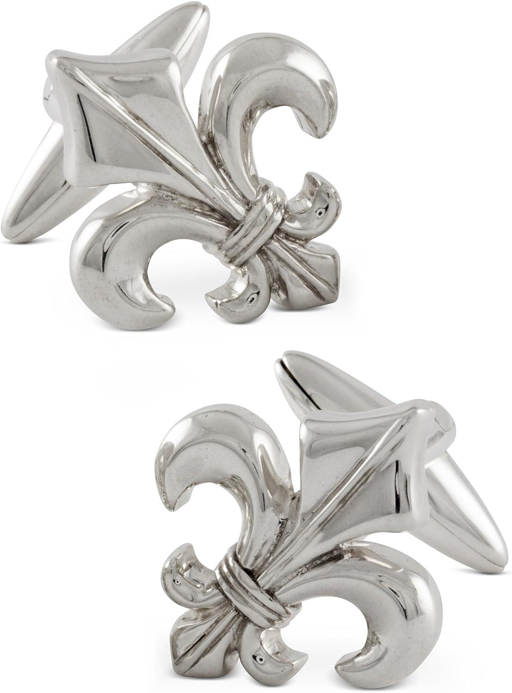ZAUNICK Gothic Fleur Louisville-Jefferson County Mall Cheap mail order specialty store De Lis Silver Sterling Cufflinks Handcrafte