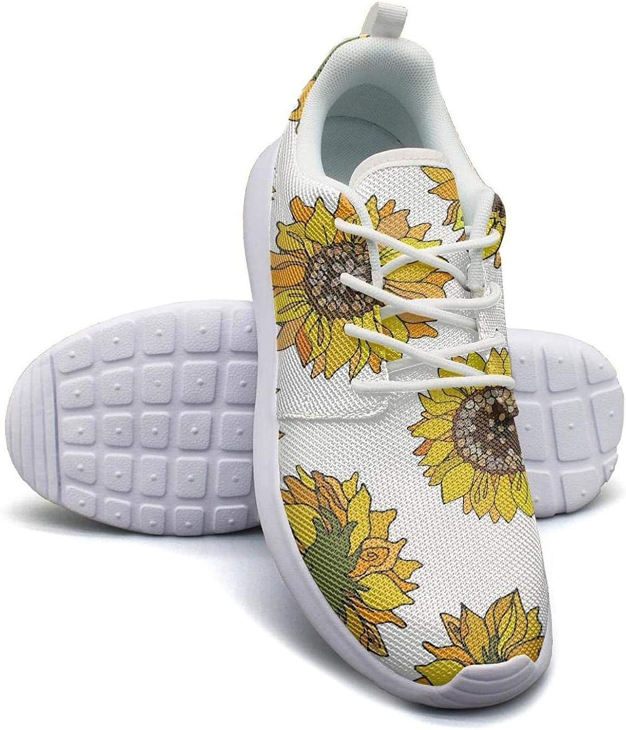 Hobart dfgrwe Flower and Miniature Schnauzer Dog Purple Lady Canvas Casual shoes Care Classic Running shoes