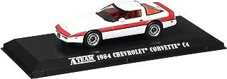 1984 Chevrolet Corvette C4 The A Team 1983-1987 TV Series 1/43 Diecast Model Car by Greenlight 86517