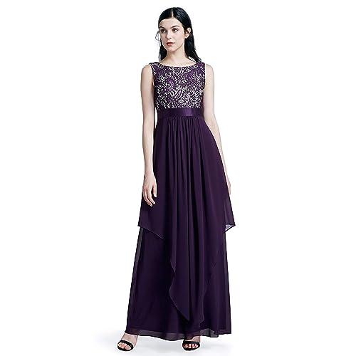 Ever-Pretty Elegant Sleeveless Round Neck Party Evening Dress 08217 7053c3d73