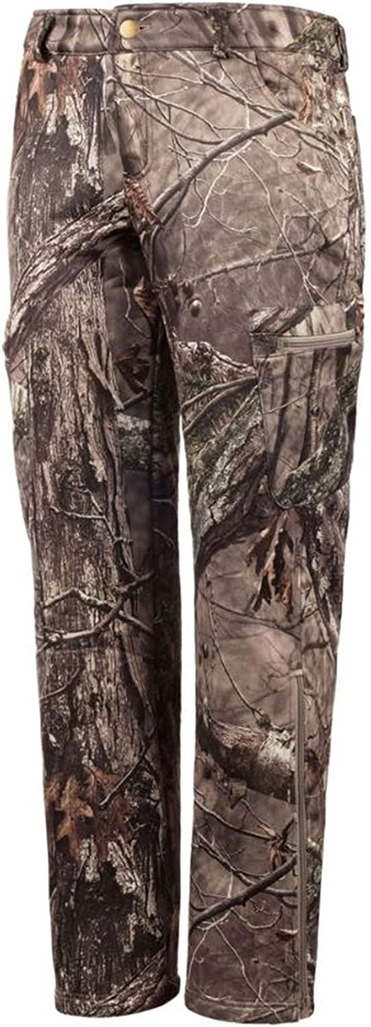 Huntworth Over item handling Ladies Factory outlet Soft Shell Pants Camo Hidd'n Hunting