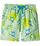 Vilebrequin Kids - Jim Surfing Turtles Swim Trunk (Toddler/Little Kids/Big Kids)