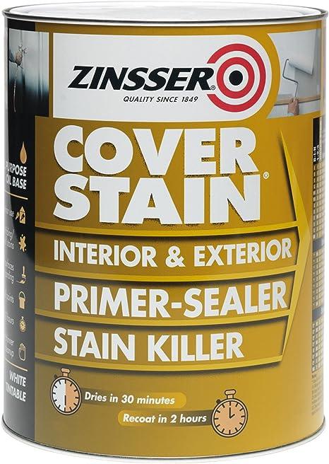 Zinsser Cover Stain Primer/Finish Paint 1 Litre