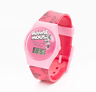 Disney Minnie Mouse Girls Digital Dial Wristwatch - MIER11