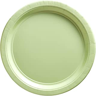 Big Party Pack Leaf Green Paper Plates | 7