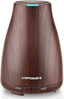 URPOWER 2nd Version Essential Oil Diffuser Aroma Essential Oil Cool Mist Humidifier with..