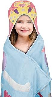 Best Brands Kids Hooded Throw - Princess