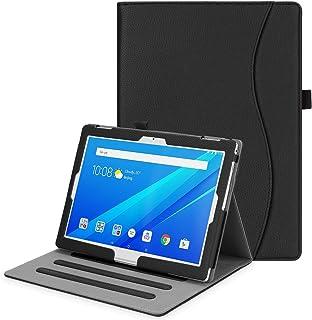 Fintie Funda para Lenovo Tab 4 10.1 - [Multiángulo] Carcasa con Bolsillo Función de Soporte y Auto-Reposo/Activación para Lenovo Tab4 10 / Lenovo Tab4 Plus 10 de 10,1