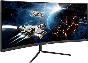 Viotek GNV29CB Ultrawide Curved 29-Inch Gaming Monitor | 120Hz UWFHD 21:9 w/Immersive 1200R VA Panel | FreeSync, G-SYNC-Co...