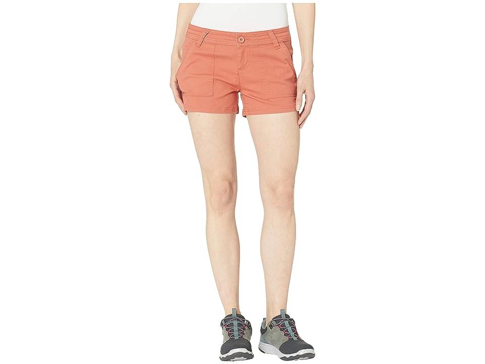 Prana Tess Shorts 3 (Toasted Terracotta) Women
