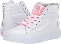5a6cfc5248 (White Giraffe) True White Strawberry Pink. 174. Vans Kids. Sk8-Hi Zip (Little  Kid Big Kid)