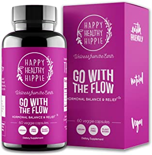 Go with The Flow Hormone Balance for Women – Supports All Hormonal Stages | PMS..