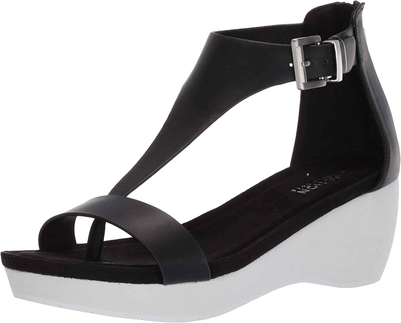 Kenneth Cole Manufacturer OFFicial shop REACTION Milwaukee Mall Women's Nice W Gal Platform Sandal T-Strap