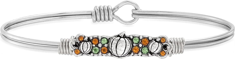 Luca + Danni   Pumpkin Medley Bangle Bracelet For Women Made in USA