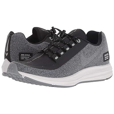 Nike Air Zoom WInflo 5 Run Shield (Black/Metallic Silver/Cool Grey) Women