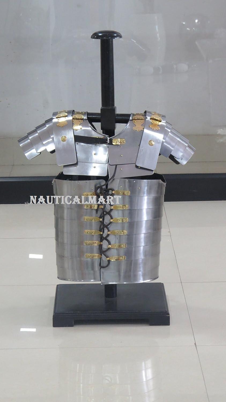 NauticalMart Roman Armor Lorica Amor Segmentata Super beauty product restock quality top Breastplate Fashion Body