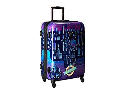 Heys America Aldo Crusher Twilight 26 Spinner (Multicolor) Luggage