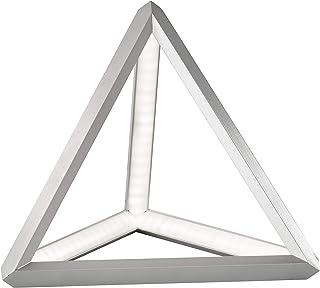 Fischer&Honsel Lion - Lámpara de mesa, metal, 11 W, color aluminio