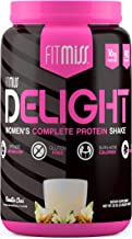 FitMiss Delight Protein Powder, Nutritional Shake, Vanilla Chai, 2 Pounds, 39 Servings