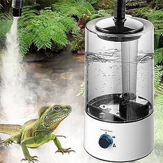 Humidificador de reptiles Suministros para mascotas Nebulizador de reptiles Nebulizador de reptiles con tubo de extensión ...