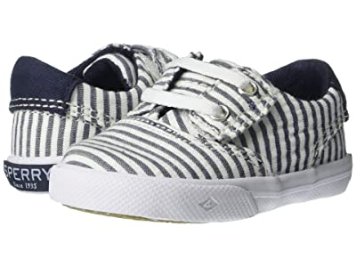 Sperry Kids Striper II Crib (Infant/Toddler) (Navy/White) Boy