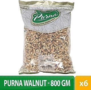 Purna Walnut - 800 gm(Pack of 6)