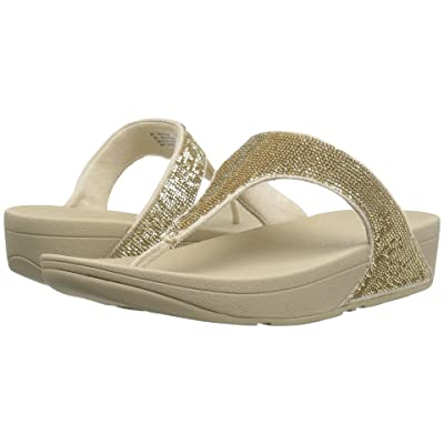 FitFlop Electratm Micro Toe Post (Pale Gold) Women