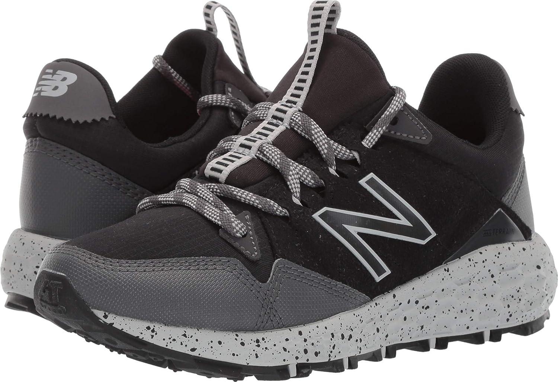 New Balance Women's Crag V1 Fresh Foam Running shoes, Black Magnet RAINCLOUD, 5.5 D US