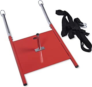 Weight Sled with Harness | Weighted Drive & Drag Power Sled with Tow Straps | Speed, Agility, Strength, Conditioning Resistance Training Equipment for Running, Basketball, Baseball, Soccer & Football