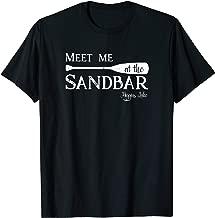 Higgins Lake, Meet me at the Sandbar Michigan Vacation   T-Shirt